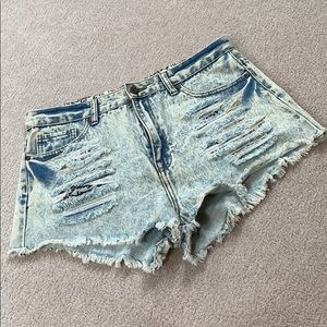 High waisted forever 21 jean shorts NWOT